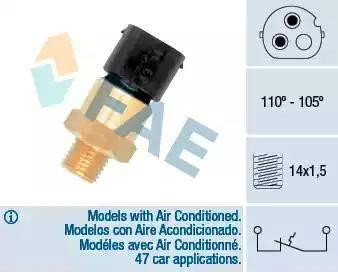 FAE 36690 - Temperatūras slēdzis, radiatora / gaisa kondicioniera ventilators autodraugiem.lv