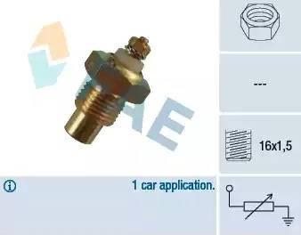 FAE 30280 - Devējs, Dzesēšanas šķidruma temperatūra autodraugiem.lv