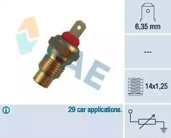 FAE 31590 - Devējs, Dzesēšanas šķidruma temperatūra autodraugiem.lv
