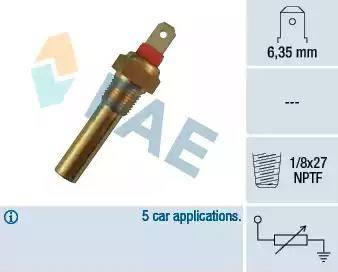 FAE 31640 - Devējs, Dzesēšanas šķidruma temperatūra autodraugiem.lv