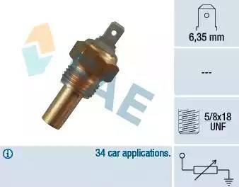 FAE 31360 - Devējs, Dzesēšanas šķidruma temperatūra autodraugiem.lv