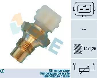 FAE 33660 - Devējs, Eļļas temperatūra autodraugiem.lv