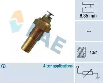 FAE 32100 - Devējs, Dzesēšanas šķidruma temperatūra autodraugiem.lv