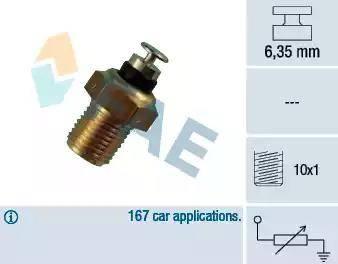FAE 32110 - Devējs, Dzesēšanas šķidruma temperatūra autodraugiem.lv