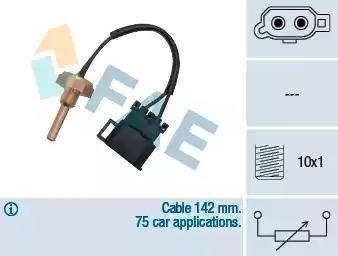 FAE 32370 - Devējs, Motora galvas temperatūra autodraugiem.lv