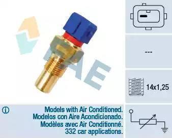 FAE 32290 - Devējs, Motora galvas temperatūra autodraugiem.lv