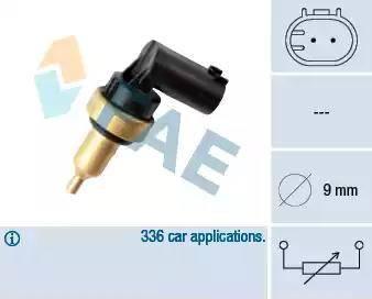 FAE 32706 - Devējs, Motora galvas temperatūra autodraugiem.lv