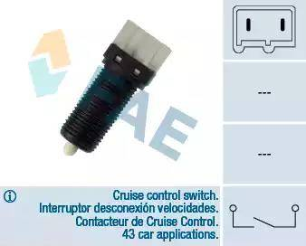 FAE 24480 - Bremžu signāla slēdzis autodraugiem.lv