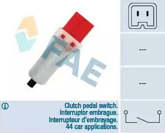 FAE 24884 - Slēdzis, Sajūga vadība (Tempomat) autodraugiem.lv