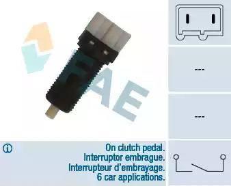 FAE 24870 - Slēdzis, Sajūga vadība (Tempomat) autodraugiem.lv