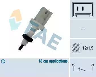 FAE 24370 - Bremžu signāla slēdzis autodraugiem.lv