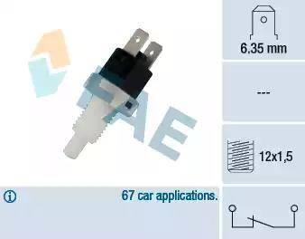 FAE 24200 - Bremžu signāla slēdzis autodraugiem.lv