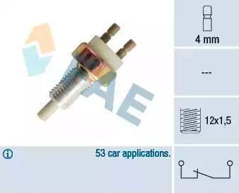 FAE 25040 - Bremžu signāla slēdzis autodraugiem.lv