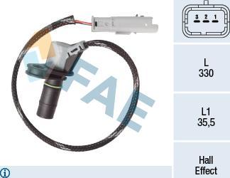 FAE 79464 - Rotācijas frekvences devējs, Man. pārnesumkārba autodraugiem.lv