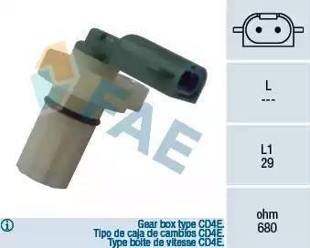 FAE 79087 - Impulsu devējs, Kloķvārpsta autodraugiem.lv
