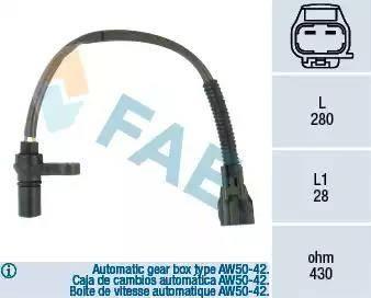 FAE 79123 - Impulsu devējs, Kloķvārpsta autodraugiem.lv