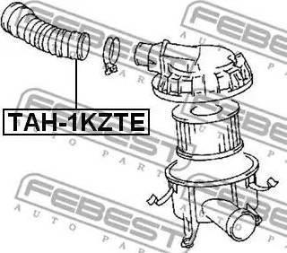 Febest TAH-1KZTE - Cauruļvads autodraugiem.lv