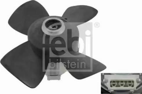 Febi Bilstein 06995 - Ventilators, Motora dzesēšanas sistēma autodraugiem.lv