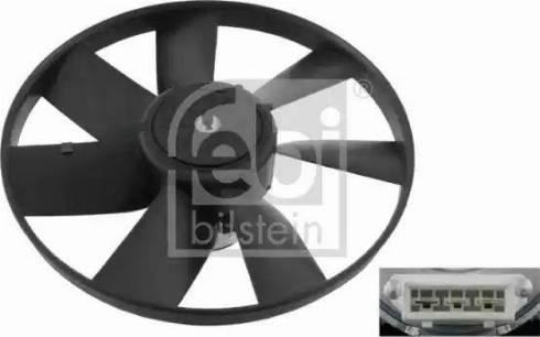 Febi Bilstein 06993 - Ventilators, Motora dzesēšanas sistēma autodraugiem.lv