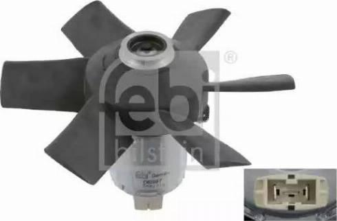 Febi Bilstein 06997 - Ventilators, Motora dzesēšanas sistēma autodraugiem.lv