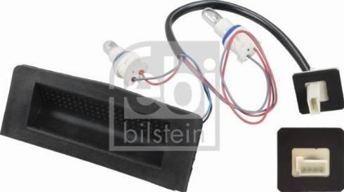 Febi Bilstein 108228 - Slēdzis, Bagāžas nodalījuma vāka atvēršana autodraugiem.lv
