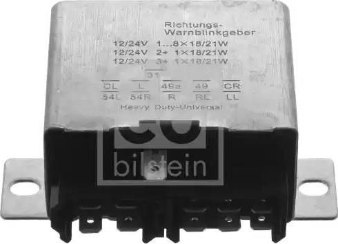 Febi Bilstein 35875 - Avārijas gaismas signāla relejs autodraugiem.lv