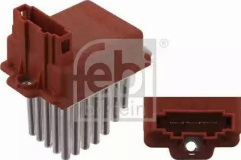 Febi Bilstein 30601 - Vadības bloks, Gaisa kondicionēšanas sistēma autodraugiem.lv