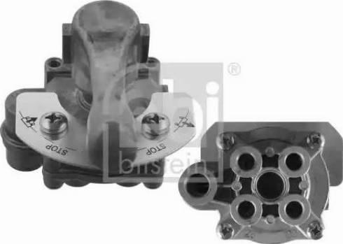 Febi Bilstein 38128 - Pagriežamā aizvara vārsts, Gaisa kompresora sistēma autodraugiem.lv