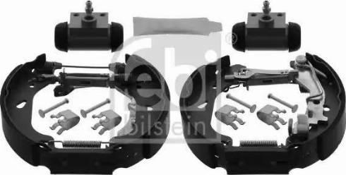 Febi Bilstein 38744 - Bremžu komplekts, trumuļa bremzes autodraugiem.lv