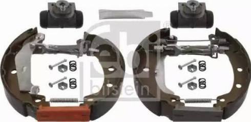 Febi Bilstein 37511 - Bremžu komplekts, trumuļa bremzes autodraugiem.lv