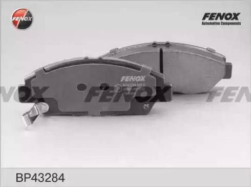 Fenox BP43284 - Bremžu uzliku kompl., Disku bremzes autodraugiem.lv