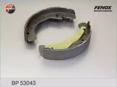 Fenox BP53043 - Bremžu komplekts, trumuļa bremzes autodraugiem.lv
