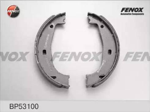 Fenox BP53100 - Bremžu komplekts, trumuļa bremzes autodraugiem.lv
