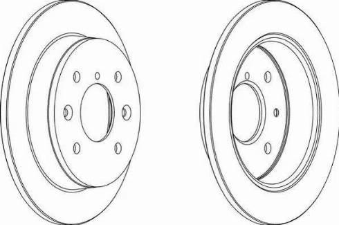 Ferodo DDF544 - Bremžu diski autodraugiem.lv