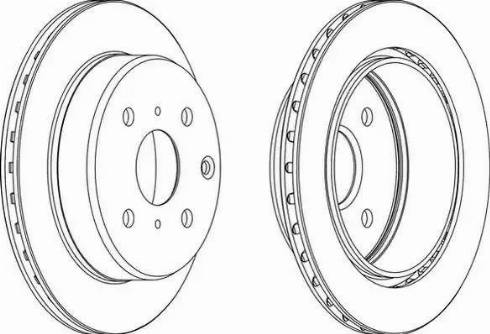 Ferodo DDF611 - Bremžu diski autodraugiem.lv