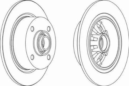 A.B.S. 15760 - Bremžu diski autodraugiem.lv