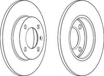 A.B.S. 15703 - Bremžu diski autodraugiem.lv