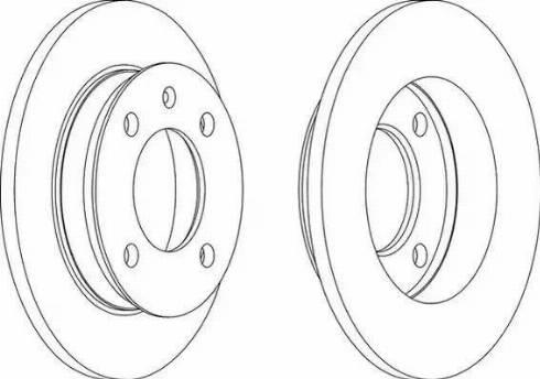 A.B.S. 15733 - Bremžu diski autodraugiem.lv