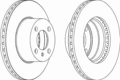 Ferodo DDF165 - Bremžu diski autodraugiem.lv