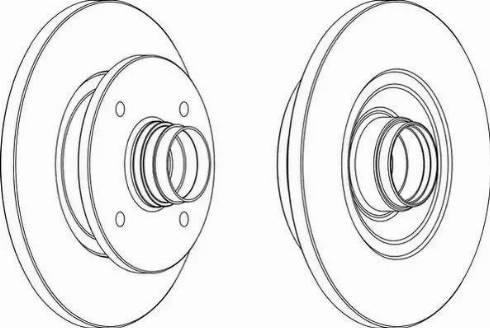 A.B.S. 15552 - Bremžu diski autodraugiem.lv