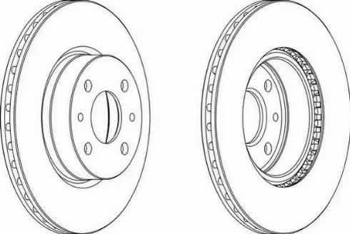 Ferodo DDF176 - Bremžu diski autodraugiem.lv