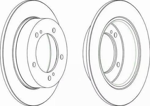 A.B.S. 15657 - Bremžu diski autodraugiem.lv