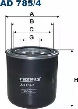 Filtron AD785/4 - Gaisa sausinātāja patrona, Gaisa kompresors autodraugiem.lv