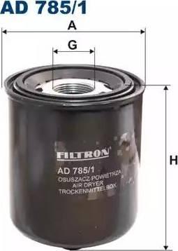 Filtron AD785/1 - Gaisa sausinātāja patrona, Gaisa kompresors autodraugiem.lv