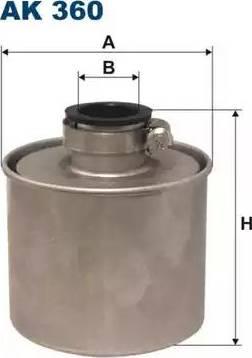 Filtron AK360 - Gaisa filtrs, Kompresors-Ieplūstošais gaiss autodraugiem.lv