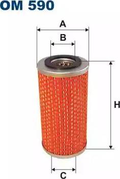 Filtron OM590 - Filtrs, Hidropacēlāja sistēma autodraugiem.lv