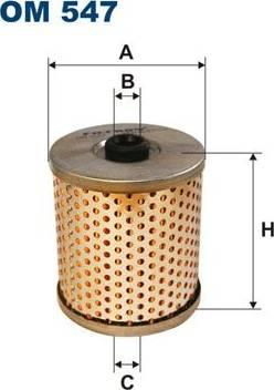 Filtron OM 547 - Filtrs, Hidropacēlāja sistēma autodraugiem.lv