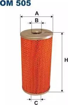 Filtron OM 505 - Filtrs, Hidropacēlāja sistēma autodraugiem.lv