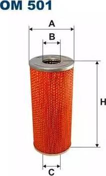 Filtron OM501 - Filtrs, Hidropacēlāja sistēma autodraugiem.lv