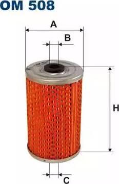 Filtron OM508 - Eļļas filtrs autodraugiem.lv